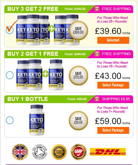 Pure Keto Slim UK price