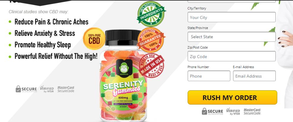 where to buy Green Ape Serenity Gummies