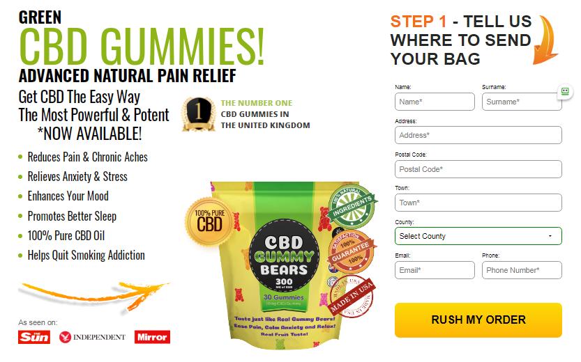green cbd gummies uk review