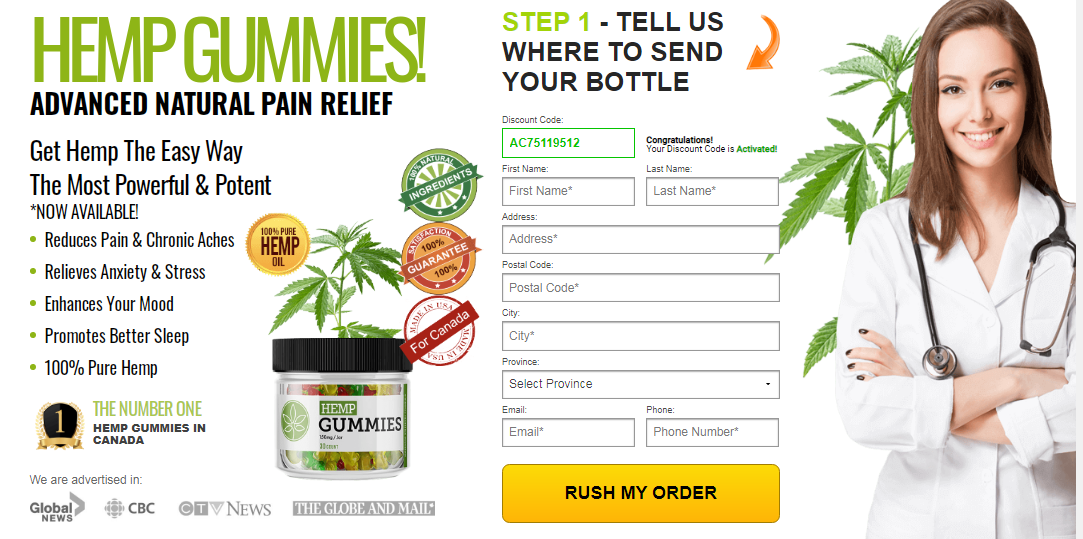 where to buy hemp gummies in Canada