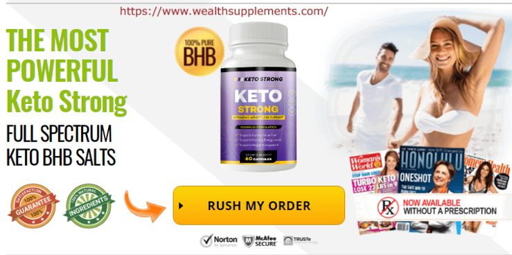 Keto Strong pills