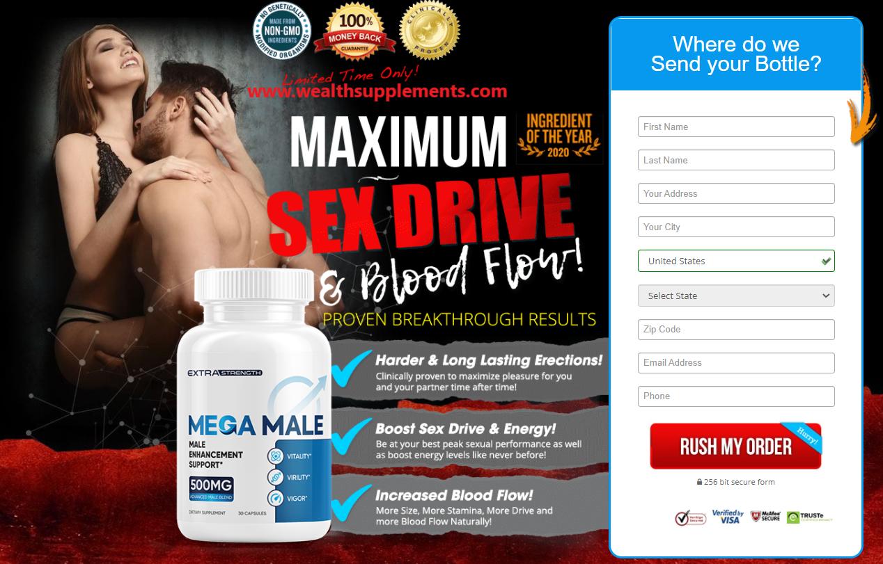 Mega Male Enhancement pills