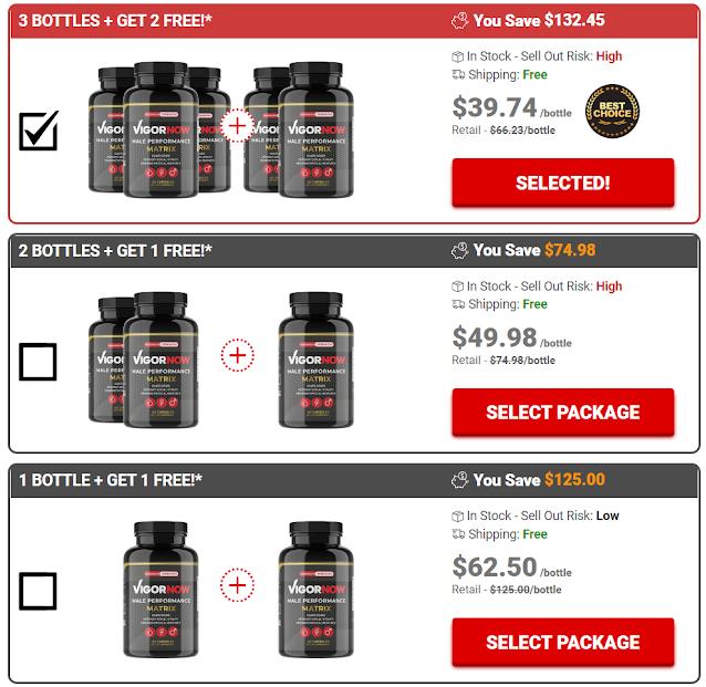 Vigornow Male Enhancement price