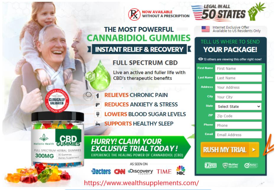Holistic Health CBD Gummies review