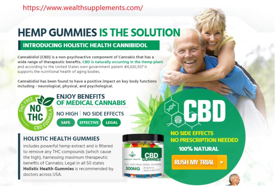Holistic Health CBD Gummies price