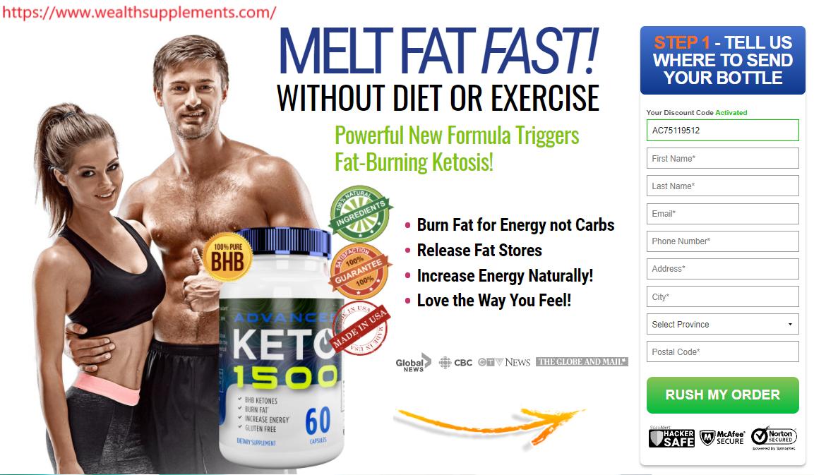 Keto Advanced Weight Loss CA