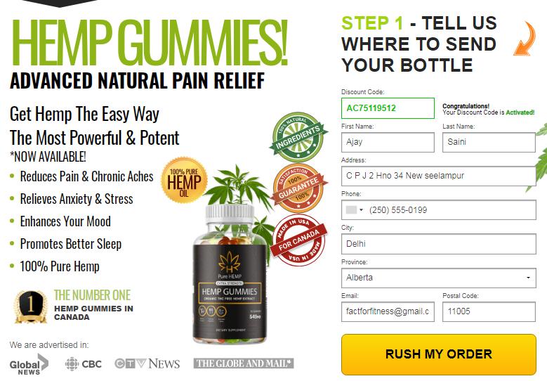 Pure Hemp Gummies REVIEWS