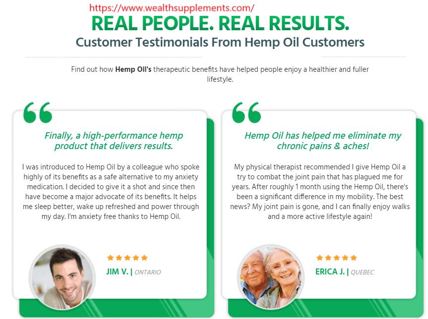 Canada Pure Hemp Oil review